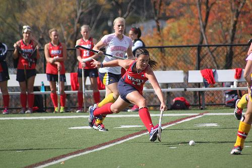 Field hockey struggles to compete on Astro Turf