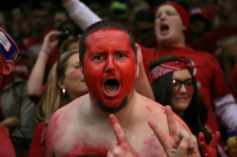 Celebrating+RMU%27s+astonishing+victory+over+University+of+Kentucky.+