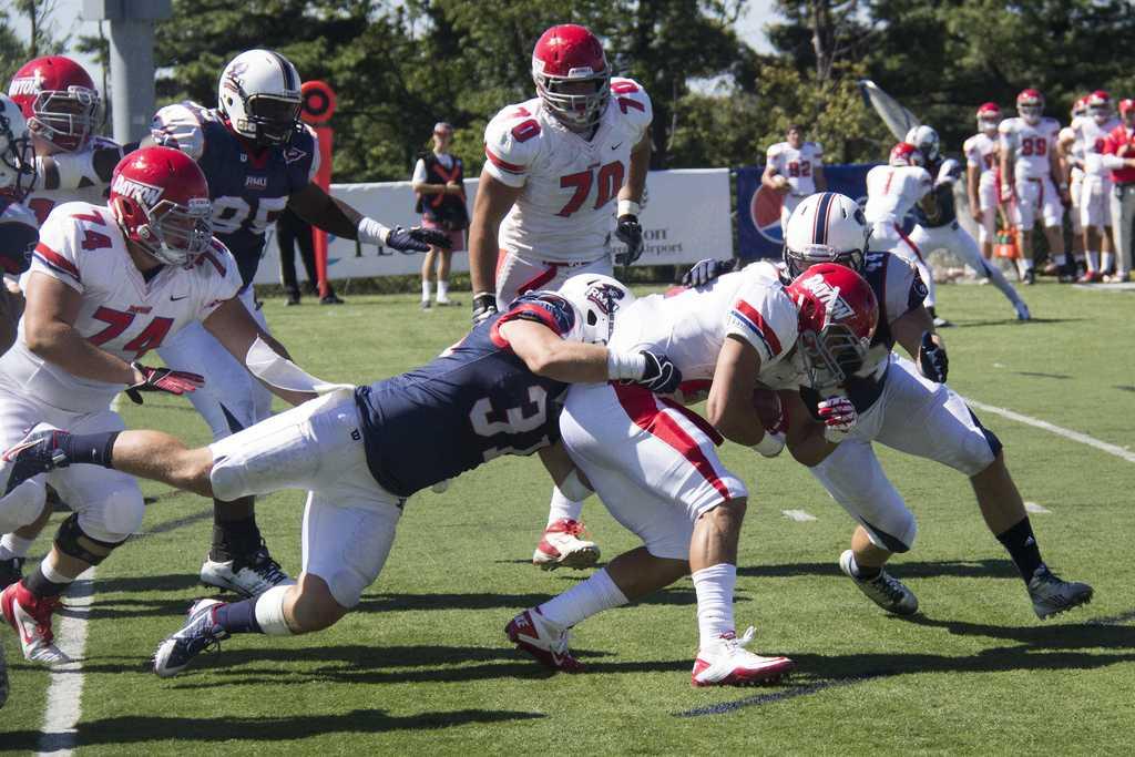 Dayton held on against RMU on 9/14/13