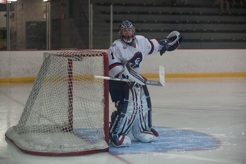 Freshman goaltender turning heads in first season