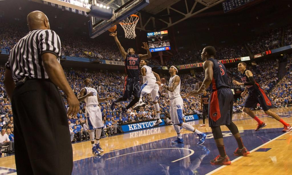 Un-'Lucky' in Kentucky: Wildcats wrangle RMU in round two
