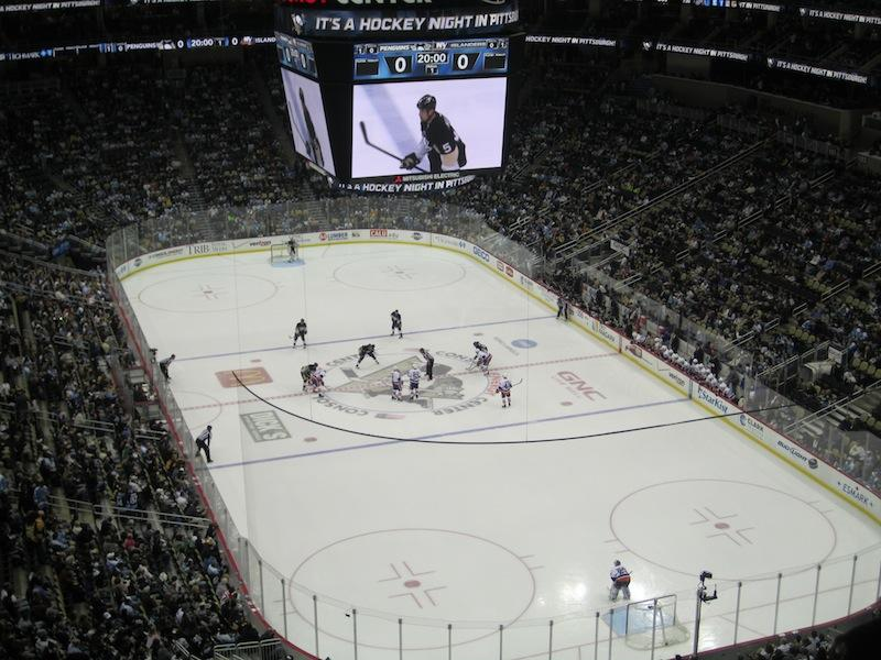 Consol Energy Center, Home of the Pittsburgh Penguins