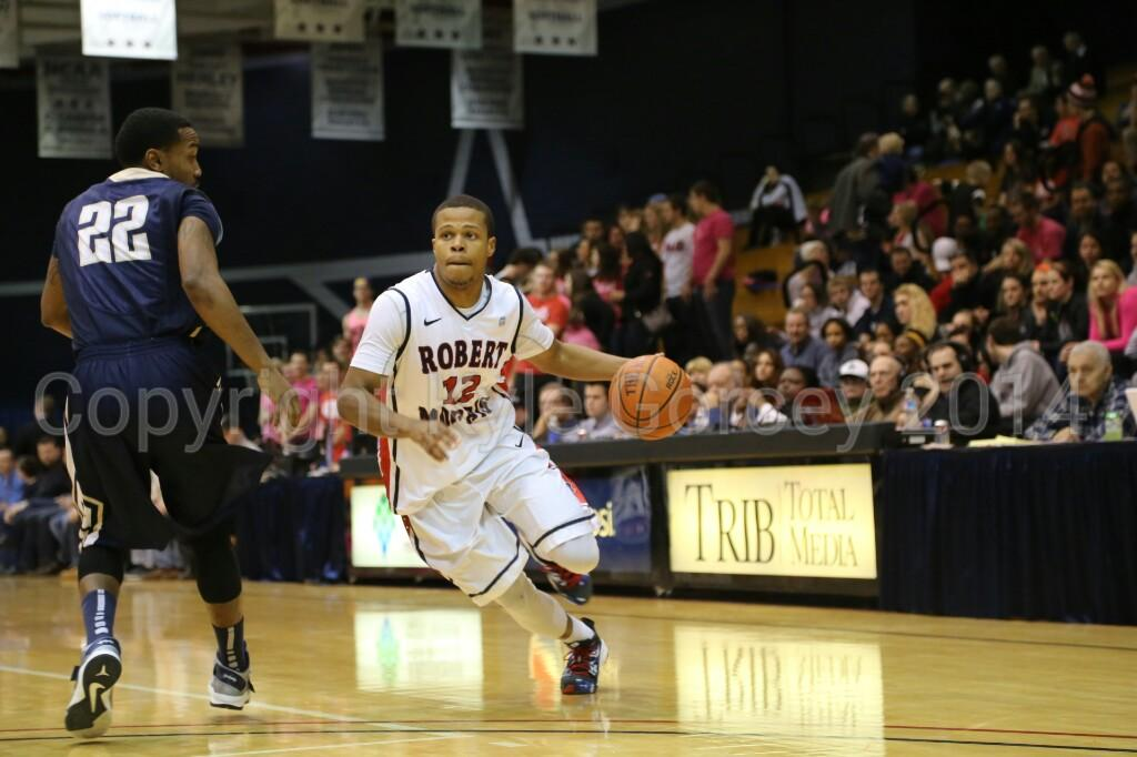 RMU nearly gets whacked by Mount St. Mary's