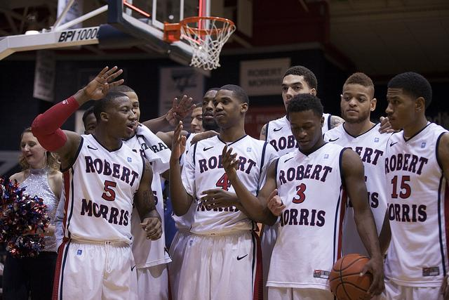 Robert Morris rallies around suspended teammates