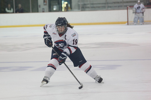 The Colonials began a third period comeback against their opponent Friday evening but fell one goal short.