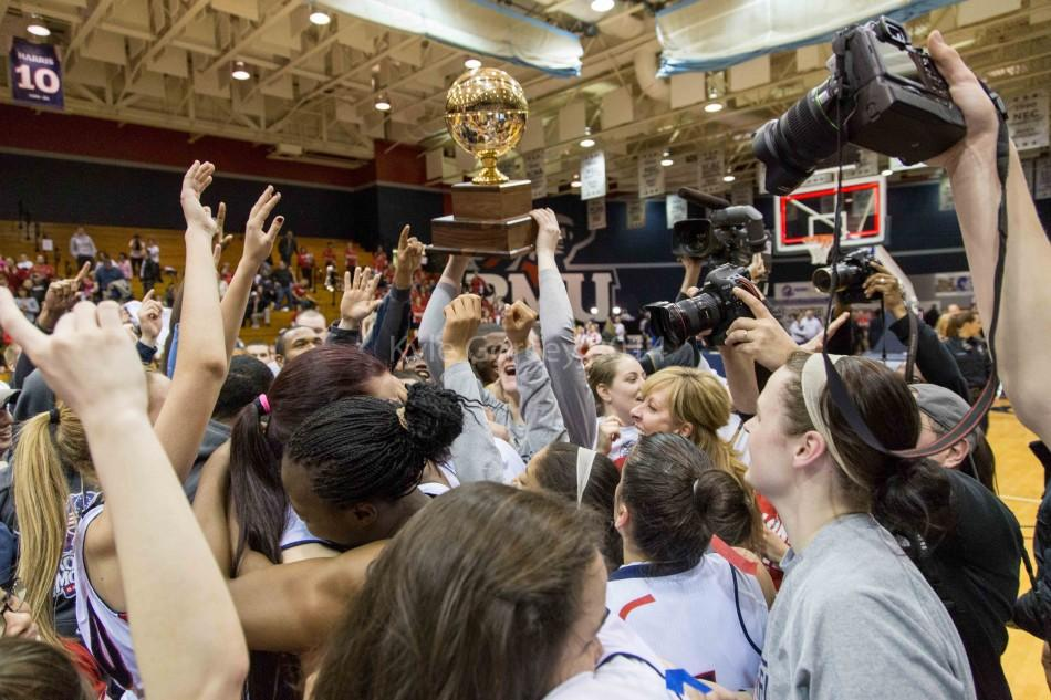 Lets Dance: Robert Morris captures NEC title, earns NCAA Tournament bid