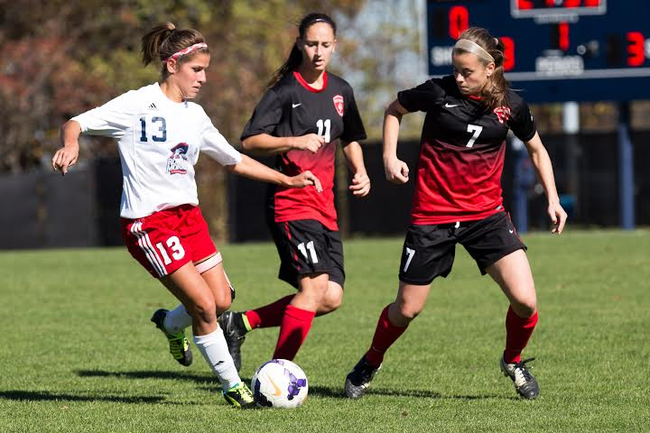 Colonials tie St. Francis (PA) on Senior Day
