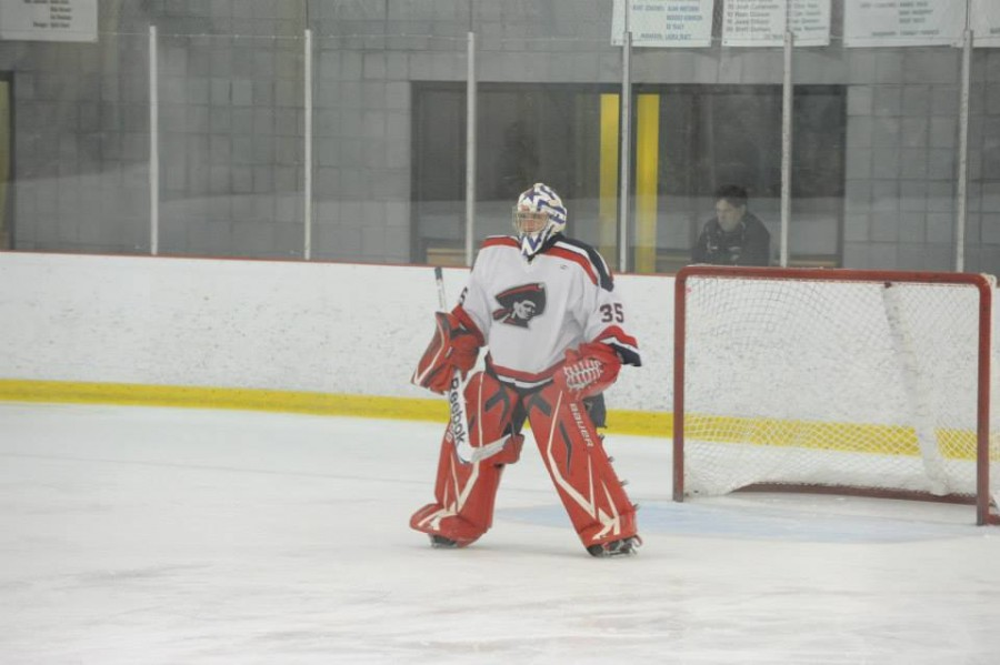 RMU ACHA D-1 goaltender Ryan Gayso is one of the top net minders in the country, owning a 4-1 record, 1.58 GAA and .931 SV%.