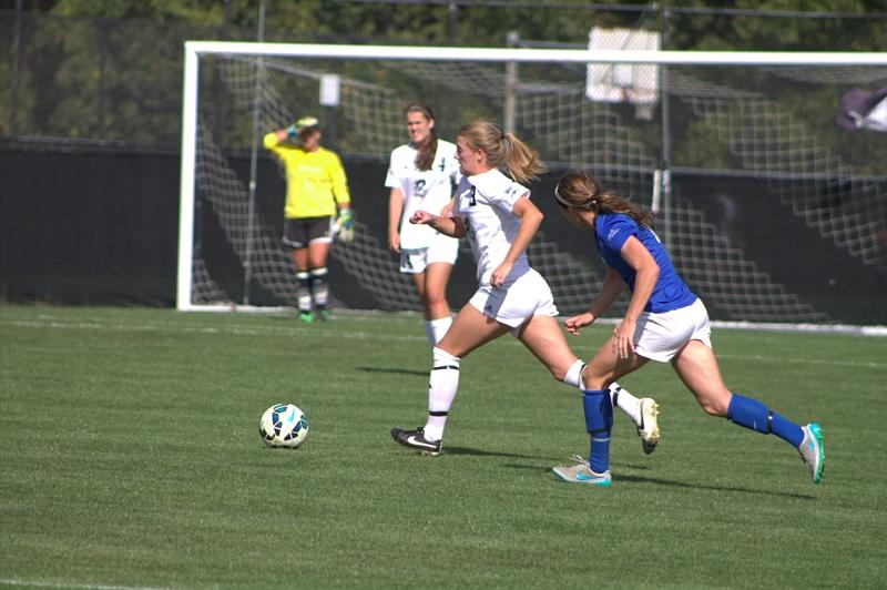 Colonials create many shots, fail to score in 1-0 overtime loss