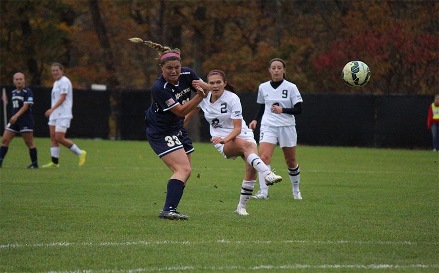 Colonials clinch first NEC Tournament berth in program history