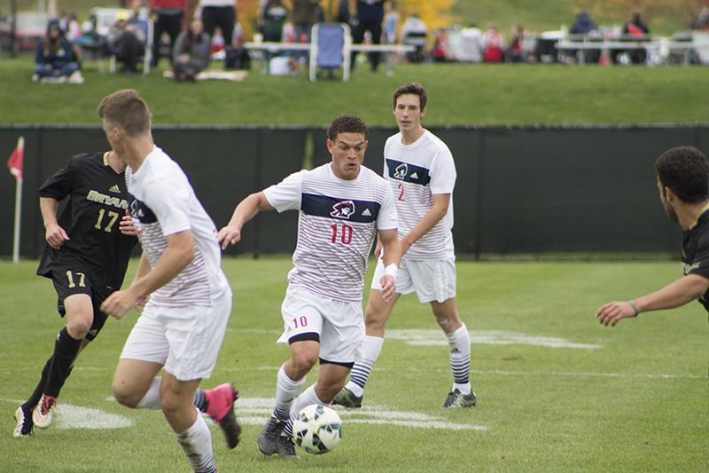 Sophomore midfielder Keane McIvor