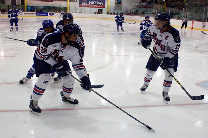 Despite record, Colonials drop first of playoff series