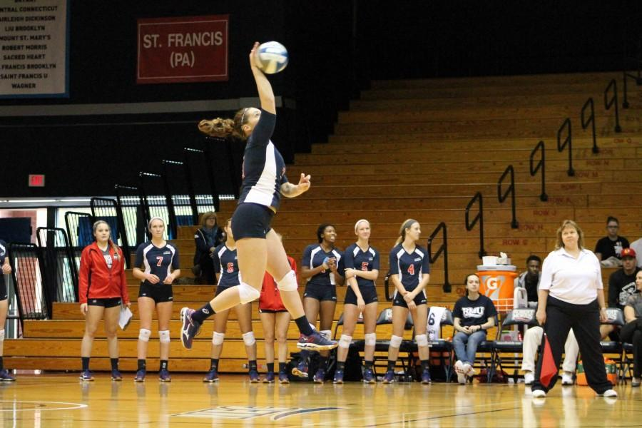 RMU moved to 9-3 in conference play Sunday after a win at FDU.