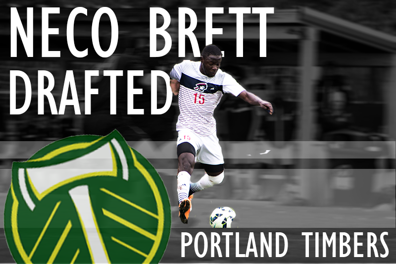 nico brett, draft, soccer, men's soccer, 1-14-16