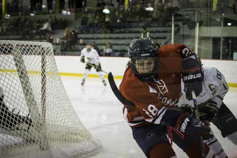 RMU's late game surge lifted them to their tenth victory of the season.