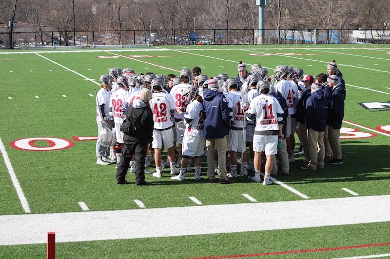 The Colonials improved to 2-0 in NEC play Saturday after their 11-9 victory over The Mount.