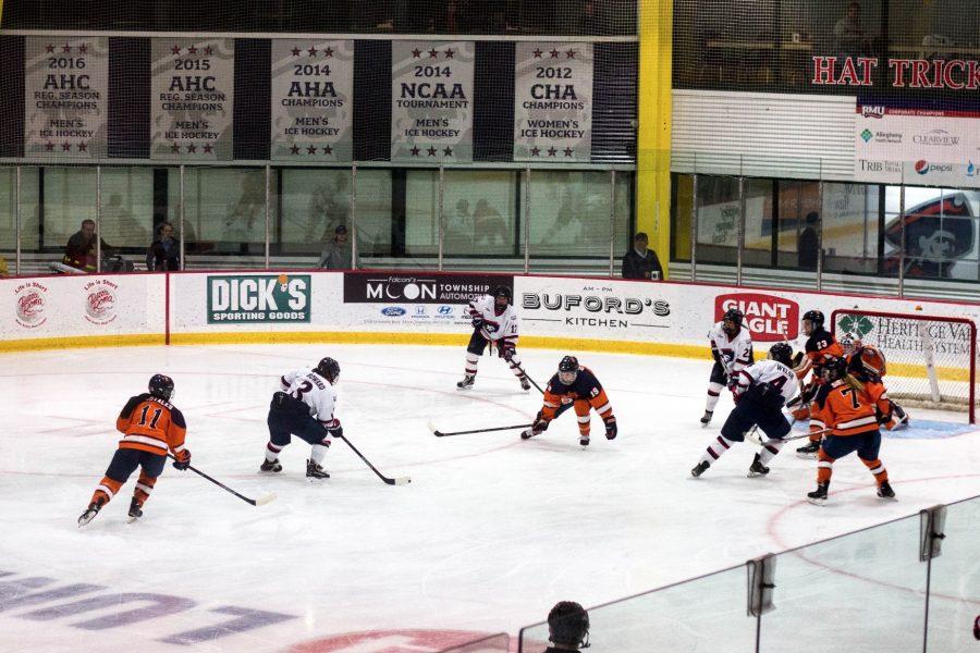 Women%27s+Hockey%3A+RMU+vs+Syracuse