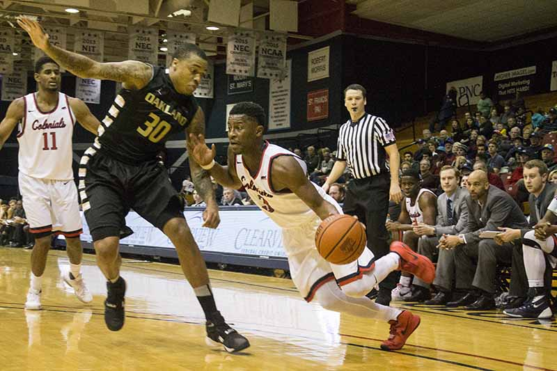 RMU used big scoring performances from Isaiah Still, Kavon Stewart, and Dachon Burke to improve in the NEC standings Thursday evening.
