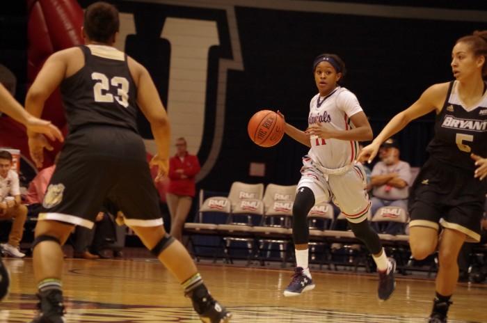 Women%27s+Basketball%3A+RMU+vs+Bryant