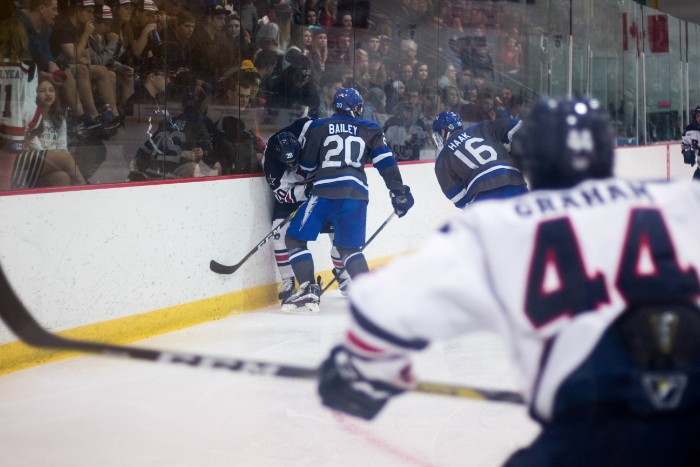 RMU men's hockey faces Bentley in first round of playoffs