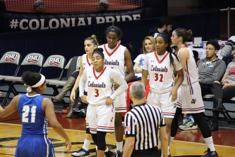 The Colonials stumbled at Bryant as they eyed their tenth straight victory.