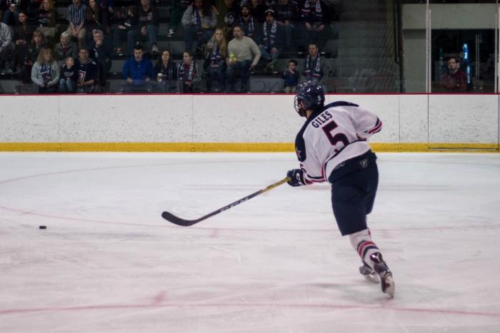 Men's Hockey: RMU vs Bentley Saturday