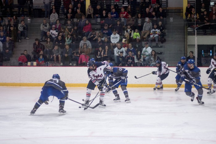 The Colonials fell one game short of making the NCAA Tournament losing to the Falcons in the conference tournament finals.