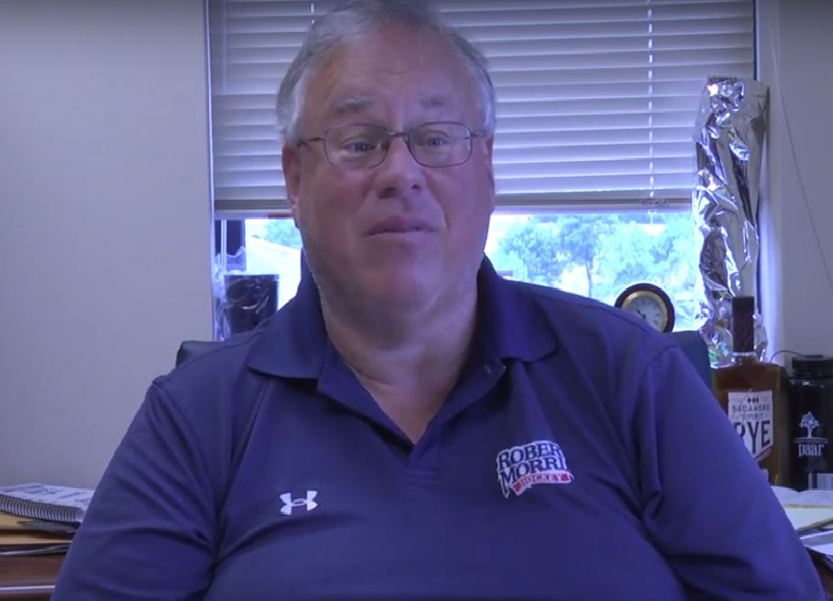 Athletic Director Dr. Craig Coleman discusses the importance of getting students to RMU Mens basketball games despite not having their home games on campus