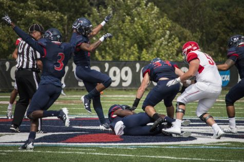 Will RMU pick up against Youngstown State where they left off with Dayton? Photo credit: Katey Ladika