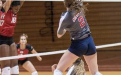 The RMU Women's Volleyball team swept Rutgers 3-0 in the final game of the Robert Morris Invitational.