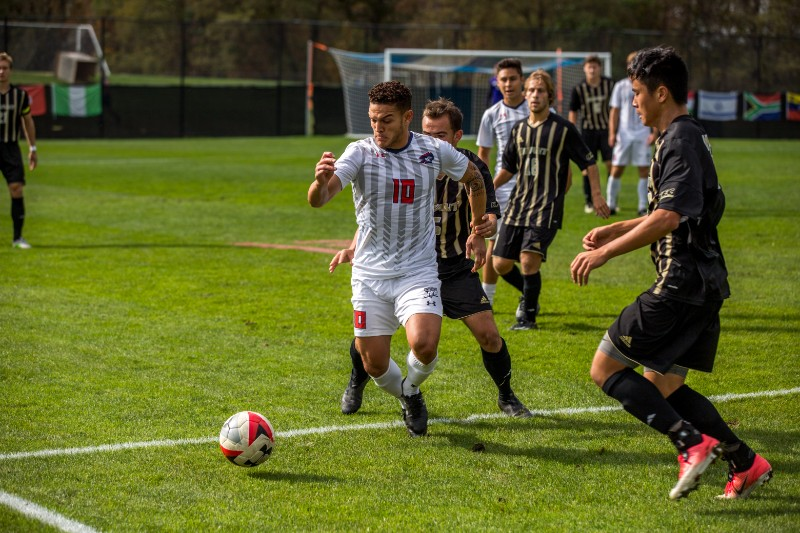 On+Friday%2C+October+13th%2C+the+RMU+Men%27s+Soccer+team+took+on+Bryant+Bulldogs+at+3pm.+