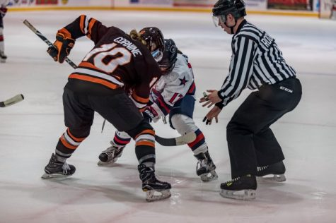 The RMU Women's Hockey team took on RIT at the Island Sports Center on Friday, November 10th 2017.