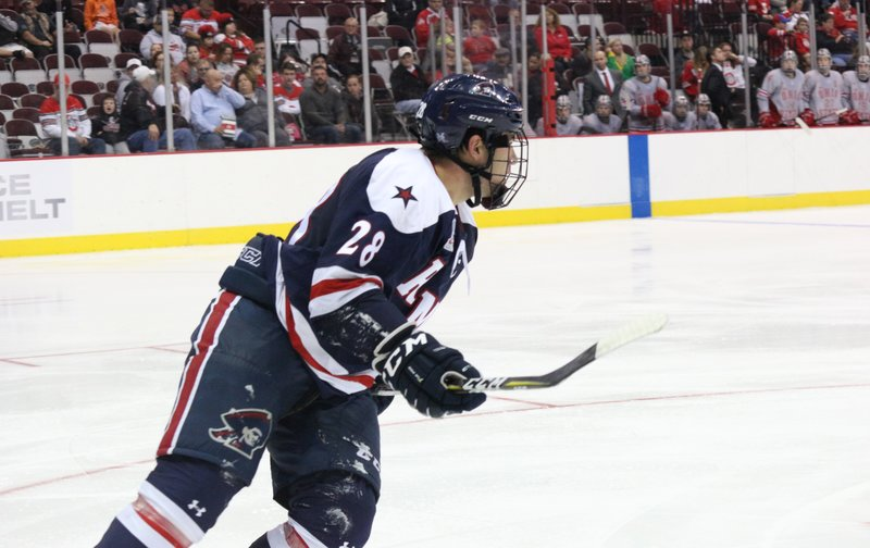 #FormerColonialWatch: Luke Lynch signs with the ECHL's Wheeling Nailers