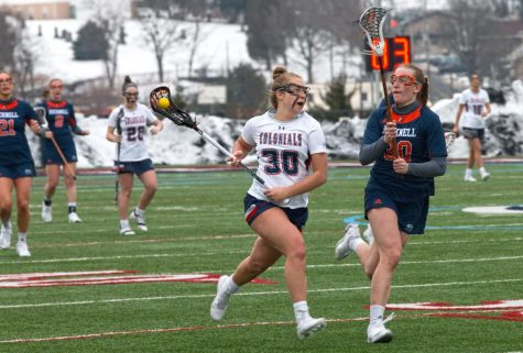 Preview: Women's lacrosse battles for playoff spot against Bryant