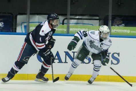 Men's Hockey: Semi-Finals vs Mercyhurst