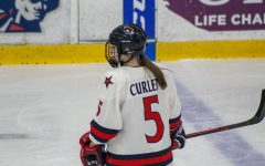 Curlett's two goals leads women's hockey to sweep over RIT