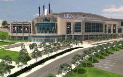 UPMC Events Center, coming in 2019. Photo Credit: (Robert Morris University)