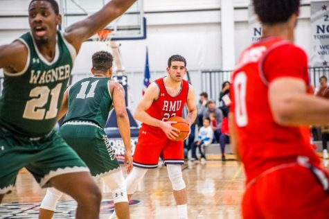 RMU Men's Basketball vs Wagner