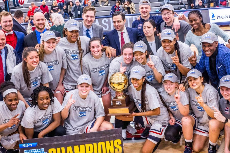 Conference Champions: Women's basketball defeats Saint Francis to win NEC Tournament