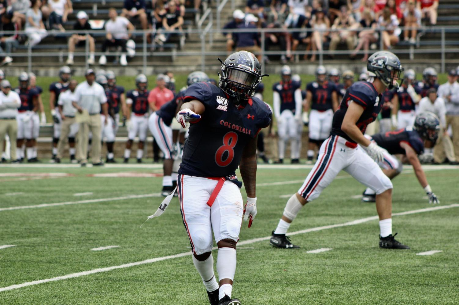 Football wins big against Duquesne, now one win away from NEC championship