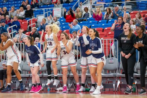 'It's very tough that someone has to lose a game like today' says coach Buscaglia after close NEC Tournament victory