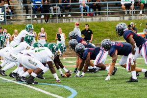 The Colonials football team will resume on-field activities on September 21st.