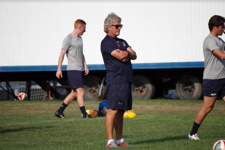 Men's soccer coach Bill Denniston retires after 23 seasons