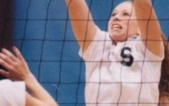 Katie Noble was named to the Northeast Conference Volleyball Mount Rushmore team this week. Photo Credit: RMU Athletics