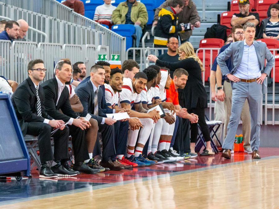 RMU was ranked fourth in the Horizon Leagues preseason poll coming off an NEC Championship victory. Photo Credit: Thomas Ognibene
