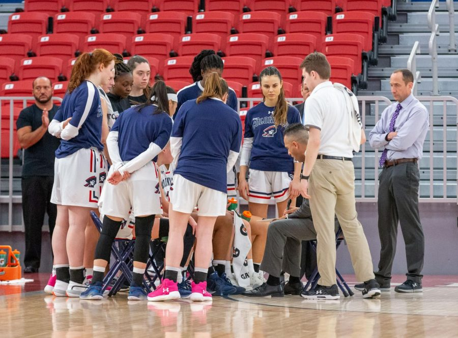 Women's basketball finally learned their schedule for the upcoming season. Photo Credit: Thomas Ognibene