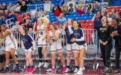 Women's basketball was ranked fifth in the Horizon League's preseason poll following an NEC regular-season championship in 2019-20. Photo Credit: Thomas Ognibene