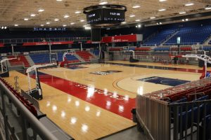 The Events Center will not host fans until at least December. Photo Credit: Tyler Gallo