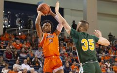 Kahliel Spear, who transferred to Robert Morris from Bucknell for this season, will have to sit out the entire 2020-21 season due to the NCAA denying his transfer waiver request. Photo Credit: Bucknell Athletics