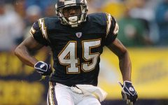 Robb Butler went from playing at RMU to playing for the San Diego Chargers.